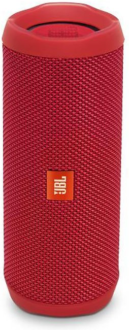 JBL Flip 4 Waterproof Portable Bluetooth Speaker – Red