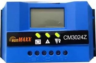 SunMaxx Solar Charge Controller 30A With Ampere Show Option