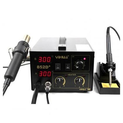 Yihua YH-852D+ 2 in1 Lead Free Soldering Station Hot Air and Iron
