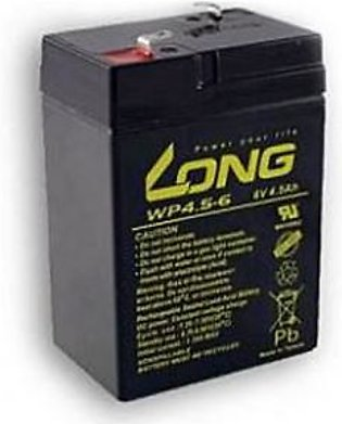 LONG Dry Battery 6V 4.5Ah