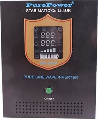 Stabimatic SSI-1000 - 700W/12V - Pure Sine Wave Inverter With Out Battery