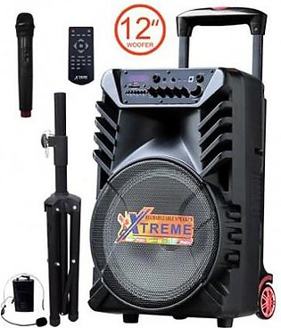 "Xtreme Party 12"" Bluetooth Portable Speaker"