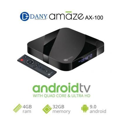 Dany Amaze AX-100 (4 GB + 32 GB) Android TV Box