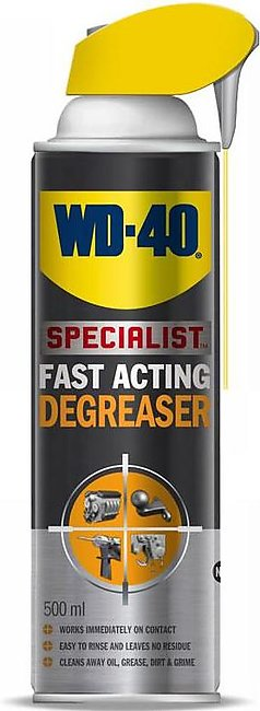 WD-40 230409 500ml Lubricant Engine Degreaser With Smart Straw
