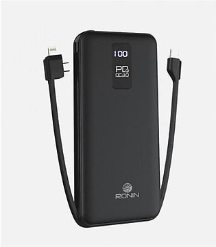 Ronin R-78 PD18W Charging Power Bank 10000mAh