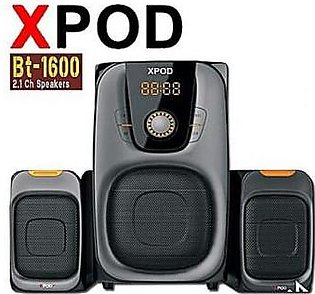 XPOD BT-1600 2.1 Multimedia Bluetooth Speaker