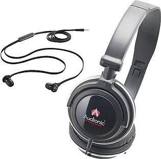 Audionic Combo C-3 Headphone & Earphone Set
