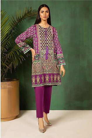 Single Shirt Lawn Print-Regular 130404A