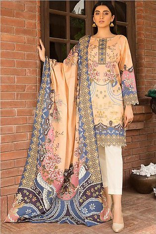2PC Lawn Print with Trouser 3821071