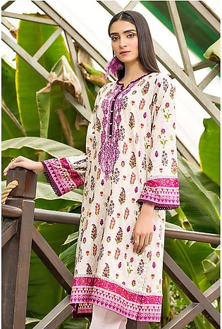 Single Shirt Lawn Embroidery- (2.5 Meter) 1320438