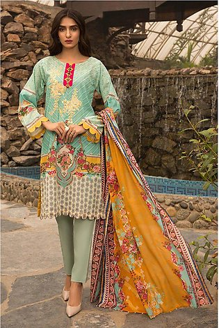 3PC Lawn Embroidery 3820269
