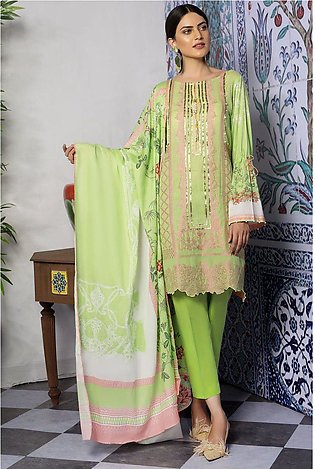 3PC Jacqaurd with Digital Lawn Dupatta 3819418
