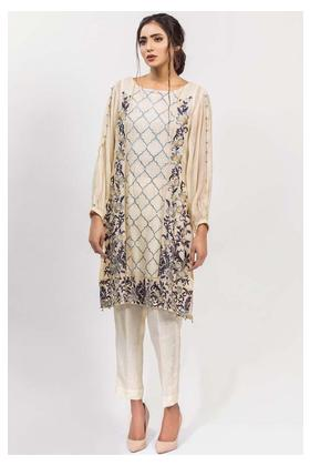 Stitched Single Shirt Embroidered with Inner Solid Embroidery LPS1835