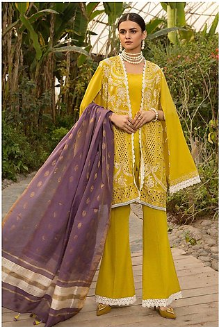 3PC CK with Weave Dupatta 3820479
