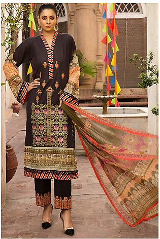 3PC Lawn Embroidery 3820256