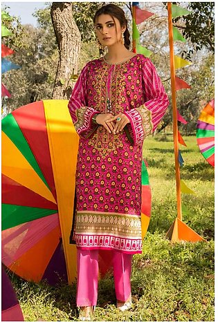 Single Shirt Lawn Embroidery 1320433