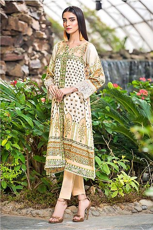 Single Shirt Lawn Embroidery 130427A