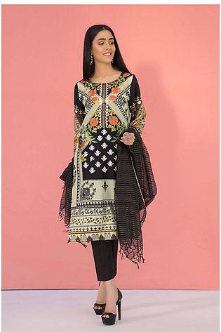 3PC Lawn Embroidery LS19125