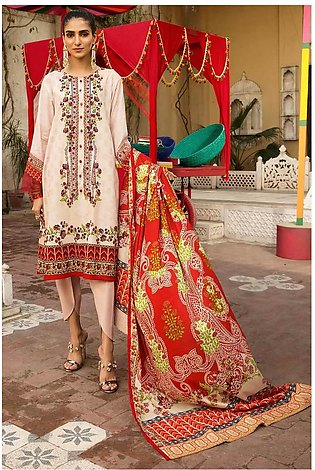 3PC Lawn with Printed Dupatta (With Emb) With Lawn 3820527