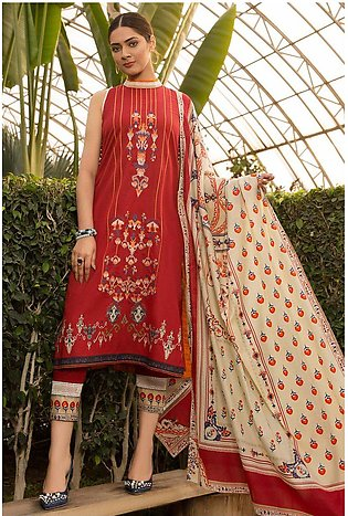 3PC Lawn Embroidery 3820270