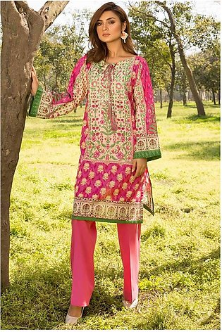 Single Shirt Lawn Embroidery 1320428