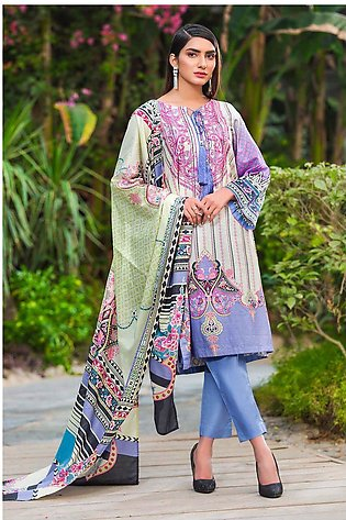 2PC Lawn Embroidery- Trouser 250271A