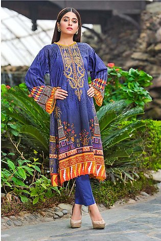Single Shirt Lawn Embroidery 1320425