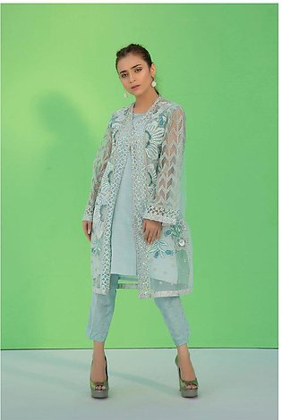 Flow Stitched Embroidered Shirt with Inner LS19104
