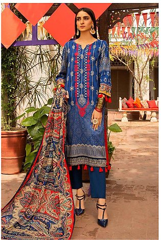 3PC Lawn Embroidery 380272A