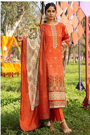 3PC Lawn Embroidery 3820275