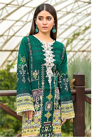 Single Shirt Lawn Embroidery 1320426