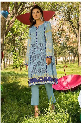 2PC Lawn Embroidery- Trouser 2520139