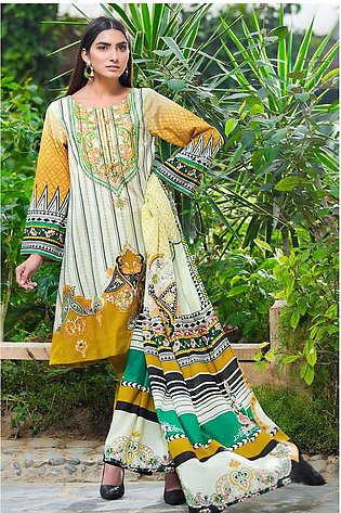 2PC Lawn Embroidery- Trouser 2520271