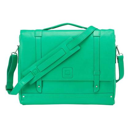 Delsey Abbesses 1-Gusset Briefcase Green - 116013003