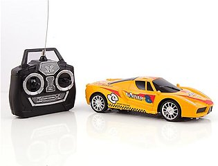 High Speed Remote Control Car - Yellow