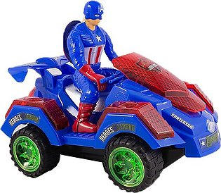 Avengers Sound And Light Sports Car Toy