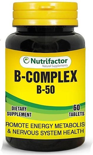 Nutrifactor B Complex With B-50 - BC