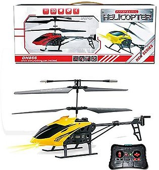 Meeshan Toys 2CH Remote Control Die-Cast Helicopter with USB - MT5031