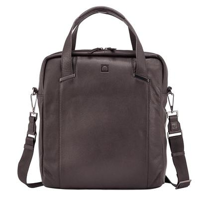 Delsey Haussmann 1-Cpt Vertical Satchel Brown - 118319006