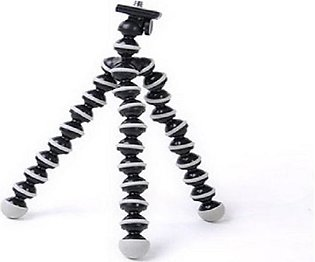 Gorilla Camera And Mobile Tripod Stand 811 - Black
