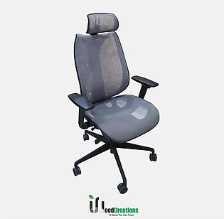 Executive Net Gray Office Chair