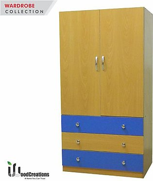 Baby Wardrobe with 3-Drawers-501