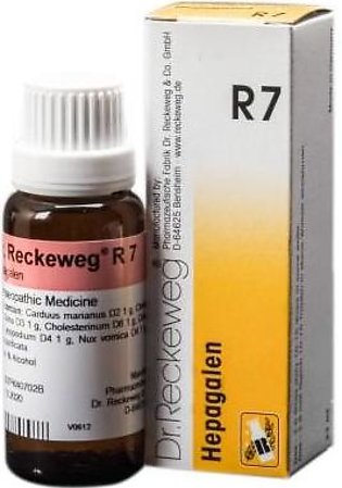Dr Reckeweg & Co. Germany Liver & Gall Bladder Drops - R-7- 22ml