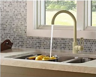 STEELINE 7736-GR Wood 46 (M) Kitchen Faucet (Made In Italy)