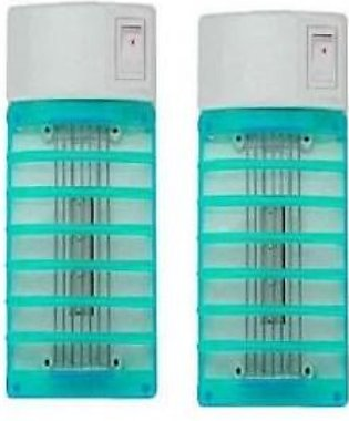 Alshops pk Pack of 2 - Mosquito Insect Killer Lamps - White And Blue