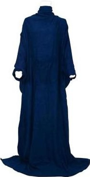 Relaxsit Polyester Fleece Tv Blanket With Sleeves - Blue