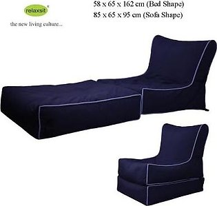 Relaxsit Wallow Flip Out Lounger Bean Bag Bed Chair Fabric
