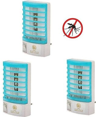 Top Shops Pack of 3 Mosquito Killer Lamp Electron Go Out
