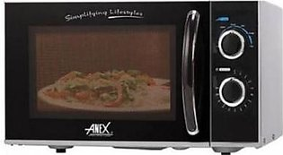 ANEX Microwave Oven Ag-9028 - Grey And Black