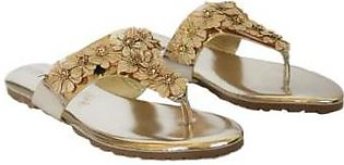 Metro Metro Shoes and Bags Fancy flat slipper For Women S923 Golden